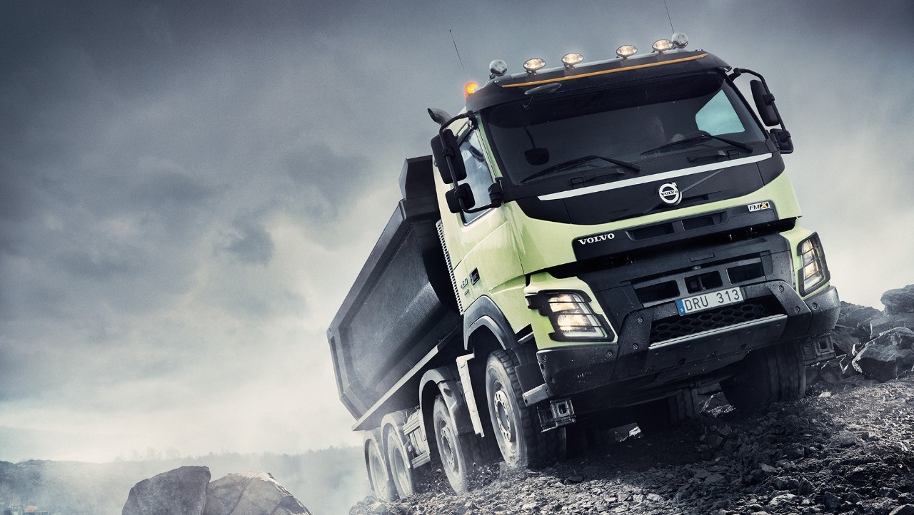 Volvo FMX finance gravel pit