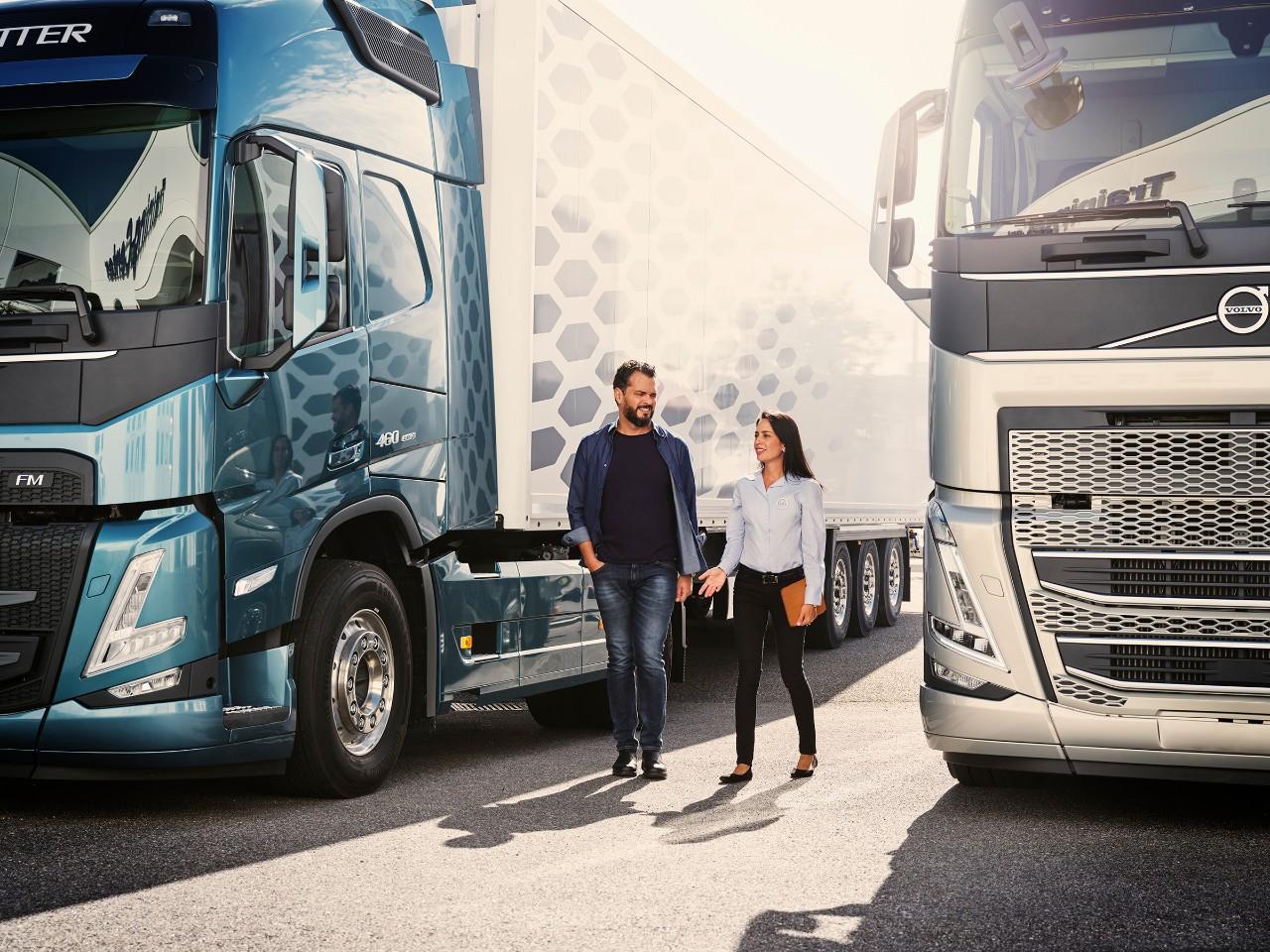Trucksin huoltopalvelut – liiketoimintasi tarpeita vastaavaa huoltoa
