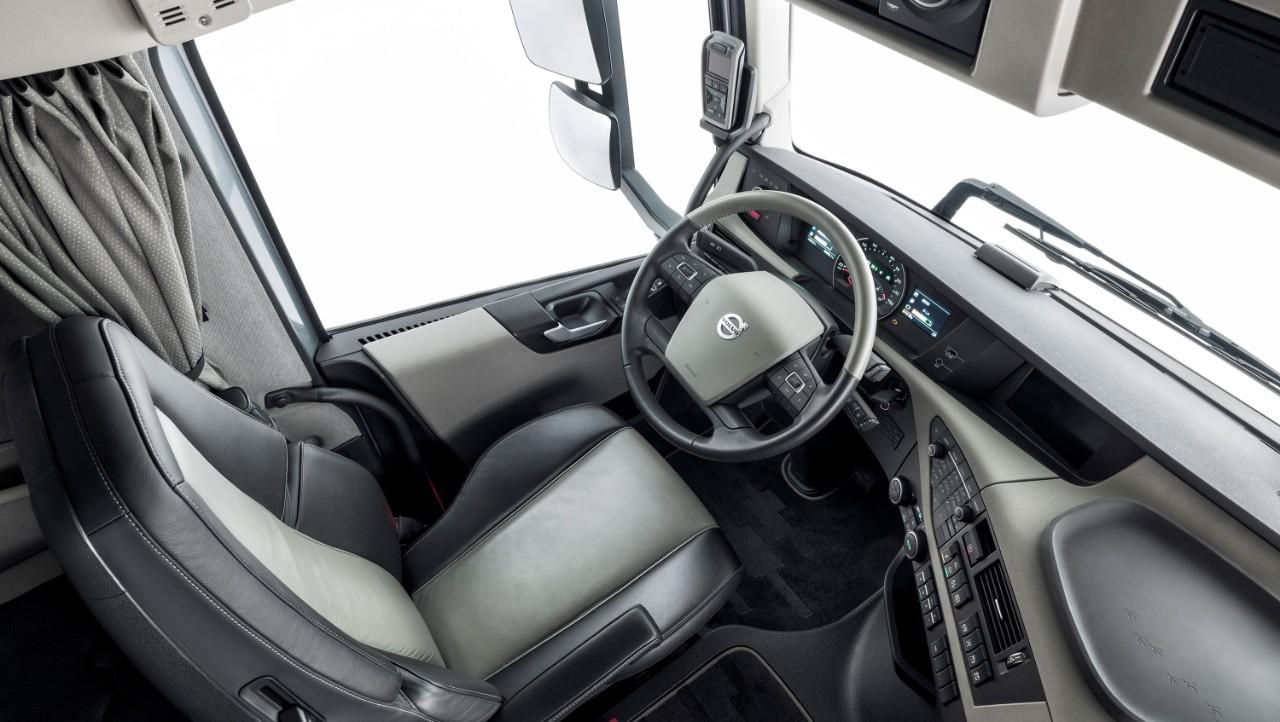 Volvo FH Classicin sisätilat.