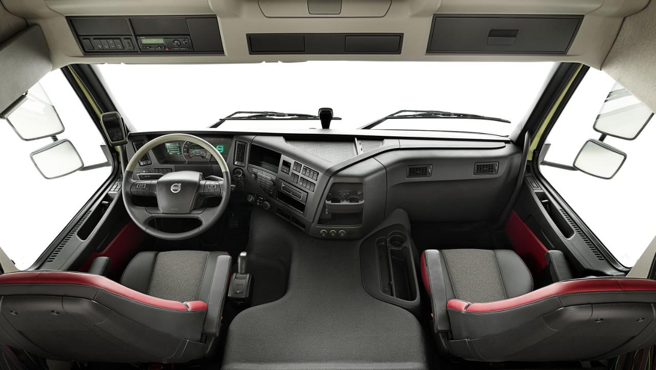 Volvo FMX Classicin sisätilat.