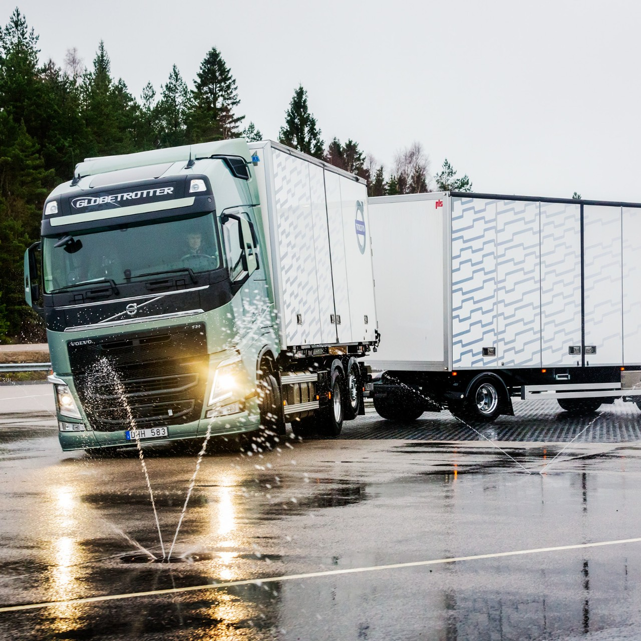 Volvo Trucksin Stretch-jarru