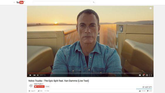 Volvo Trucks -videoita YouTubessa
