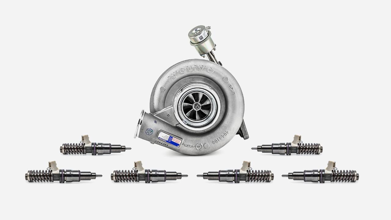 Volvo Trucksin moottorinkunnostussarja, lisävarustesarjan yleiskuvaus