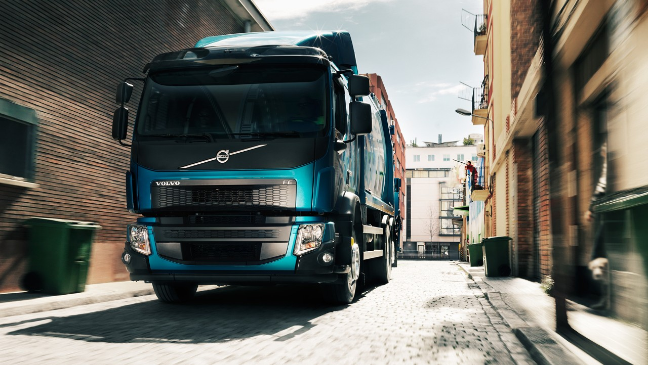 Volvo FE finance in city